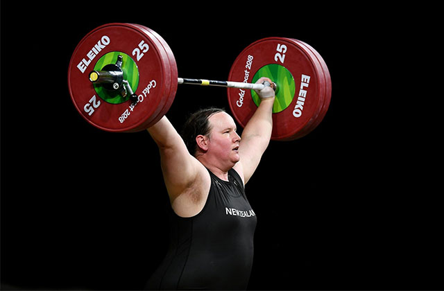 Transgender Weightlifter's Historic Golden Bid Derailed by Injury