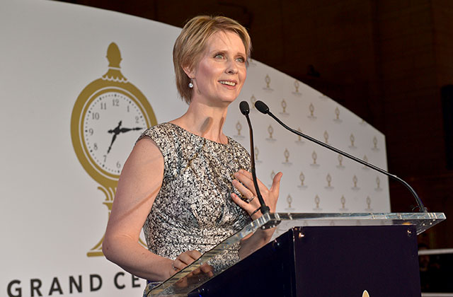Cynthia Nixon is Selling 'Unqualified Lesbian' Pins