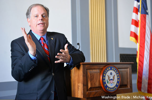 Sen. Doug Jones Talks LGBT Issues, Says Gay Son Influenced Views