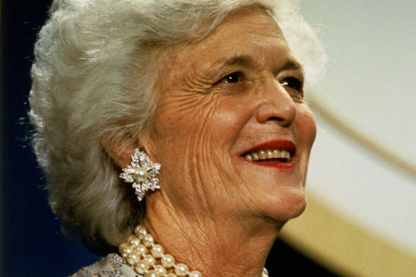 Barbara Bush Remembered As Gay Ally who Fought AIDS Stigma