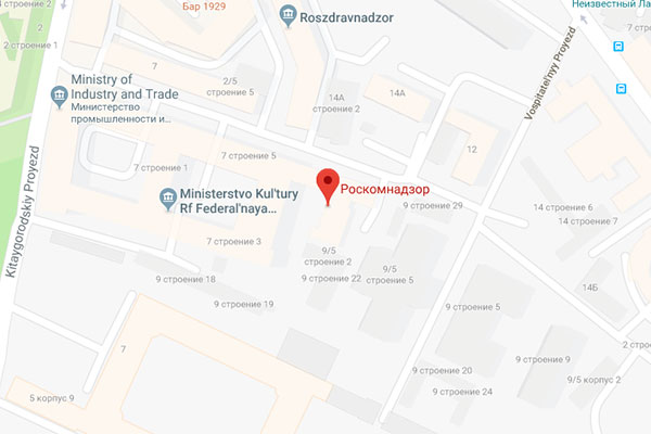 Google Map Users Change Russian Censorship Office Listing to 'Permanently Closed Gay Bar'
