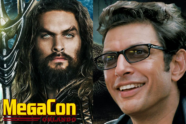Hunky Aquaman and 'Jurassic Park' Legend Heat Up MegaCon Orlando
