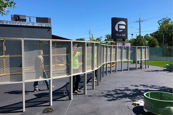 Interim Memorial Opens at Pulse
