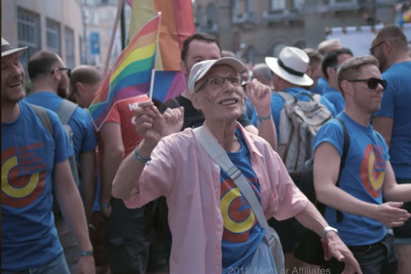 Watch: After Coming Out as Gay at 85, Man Celebrates Pride & Inspires Queer Youth