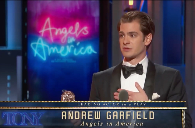 Watch: Andrew Garfield Dedicates Tony Award Win to LGBT Community in Moving Speech