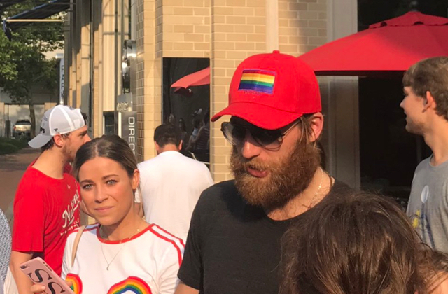 Washington Capitals Goalie Braden Holtby Wears Pride Cap While Celebrating Stanley Cup Victory