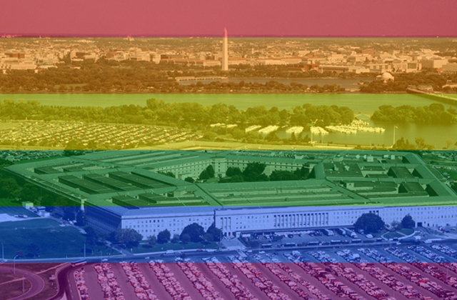 Awkward Tension as Pentagon Hosts Pride While Pushing to Ban Trans Members