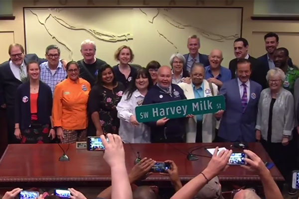 Portland to Rename Street After Harvey Milk