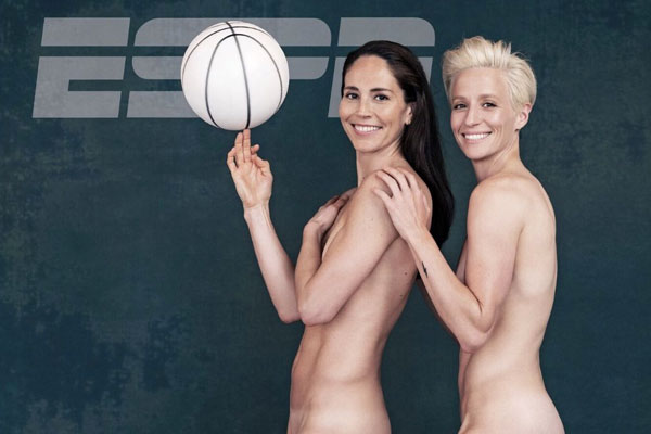 First Same-Sex Couple Appears in ESPN's Body Issue