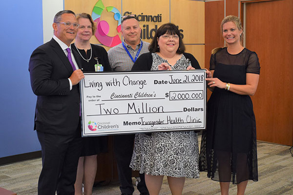 Cincinnati Transgender Clinic Receives $2 Million Donation