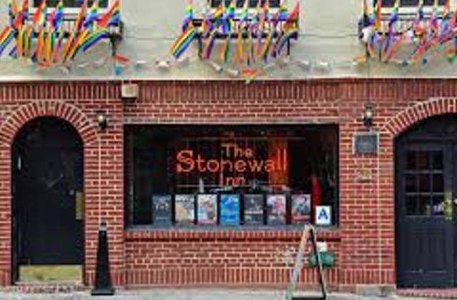 Stonewall Inn Window Smashed by Teen