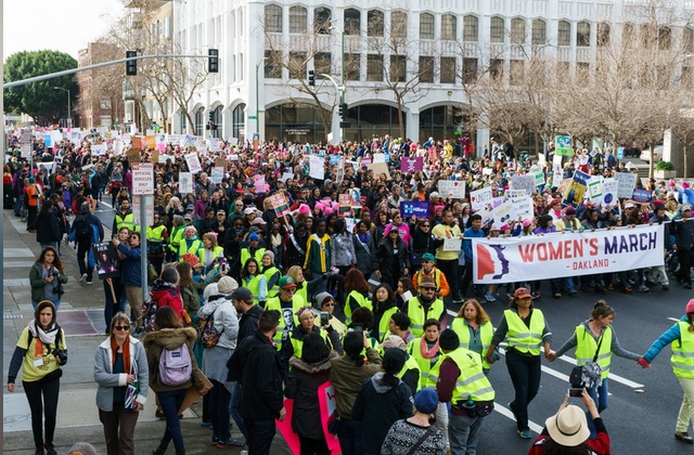 Women's March Oakland Takes a Stand for Disability Rights