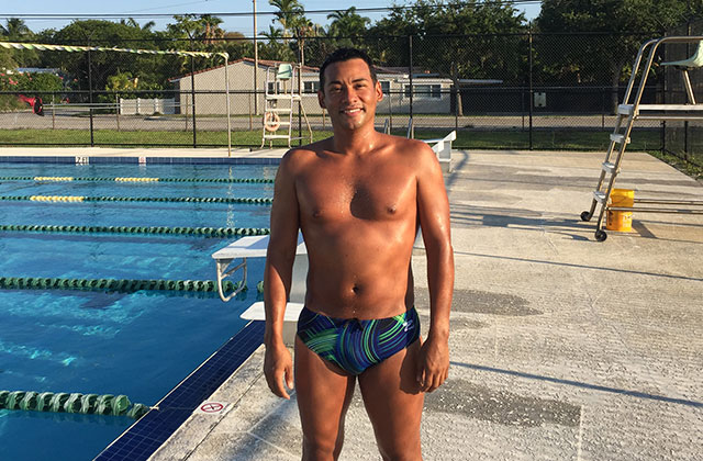 South Florida Swimmer On Way To Gay Games 10