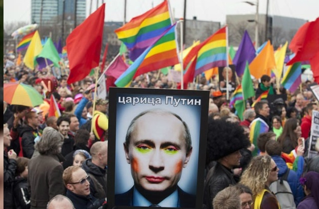25 LGBT Activists Arrested in Russia Over Pride
