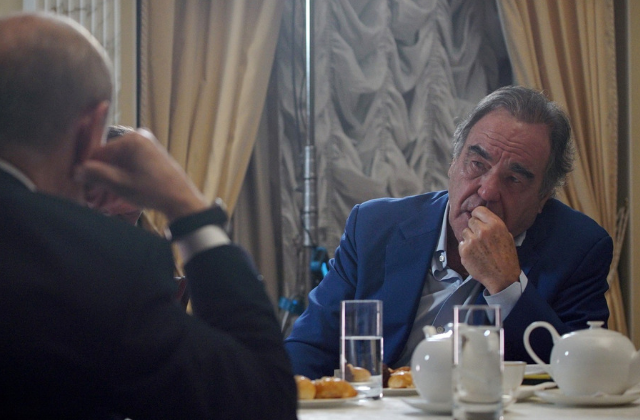 "Oliver Stone Calls Russia's Anti-Gay Law ""Sensible"""