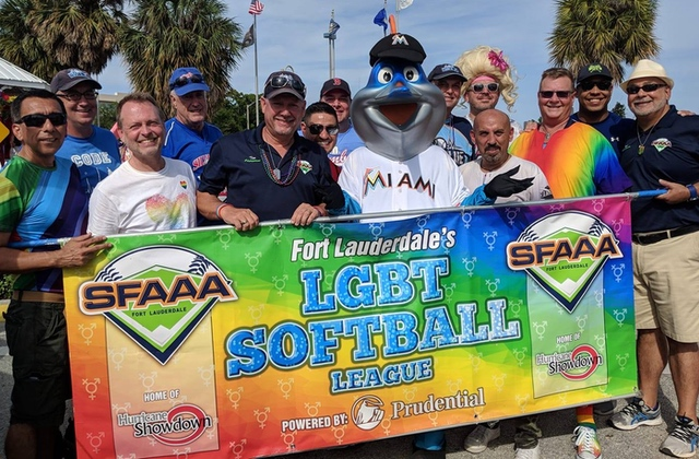 Gay Softball League Recruiting Day on Sunday