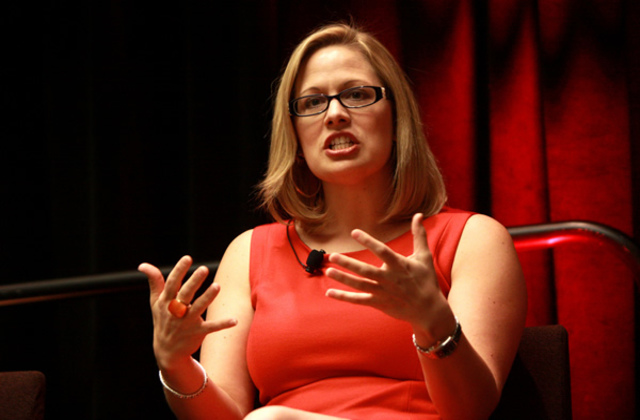 Kyrsten Sinema Wins Arizona Primary, Major First as Bisexual Candidate