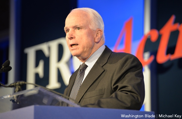 John McCain Leaves Complicated Legacy on LGBT Rights