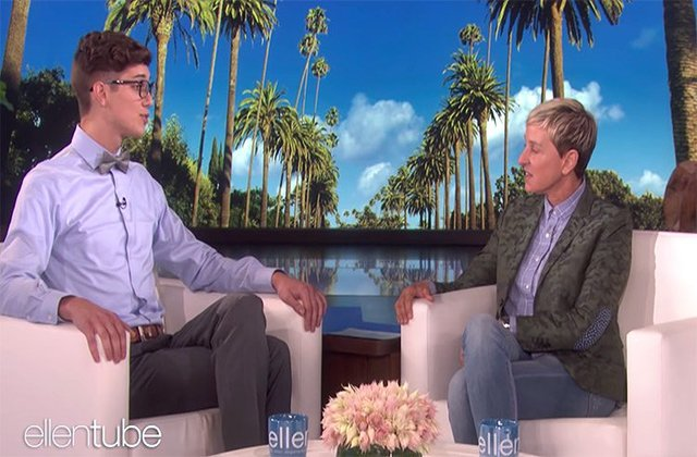 Jacksonville Valedictorian Who Was Kicked Out of Home For Being Gay Featured on Ellen Show