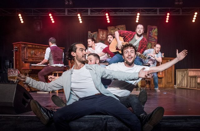 "Grab a Pint with the Singing Blokes in ""Choir of Man"""