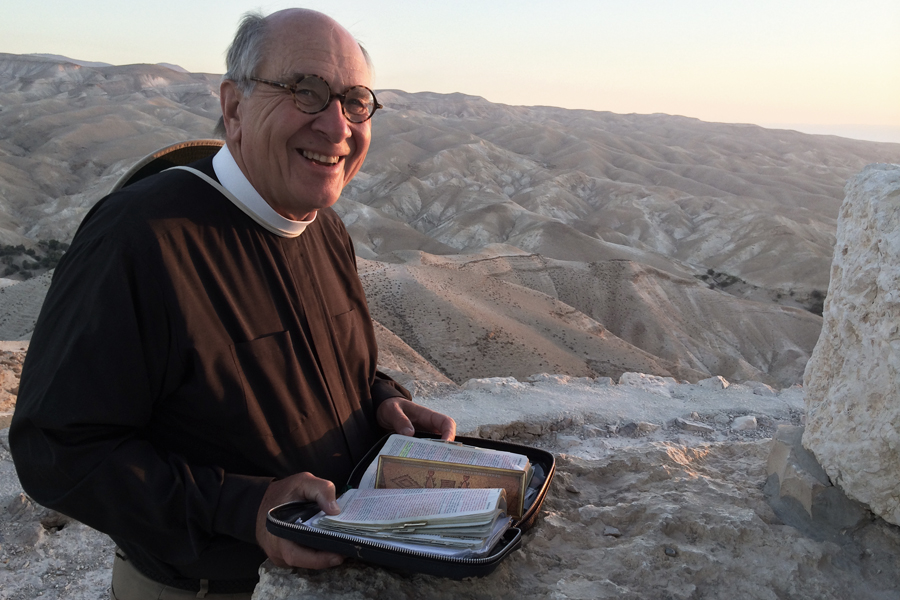 Father Bob in Israel