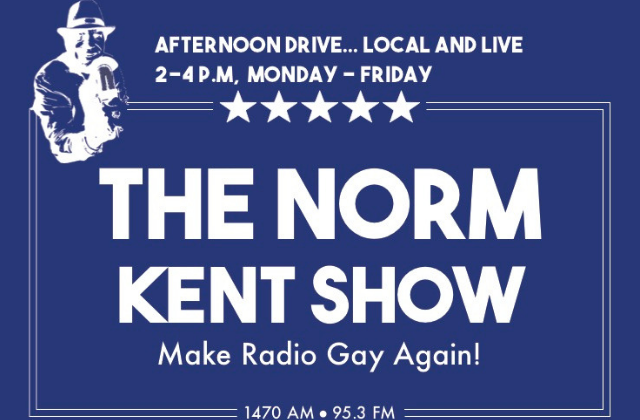 OpEd: 'The Norm Kent Radio Show' Returns Labor Day