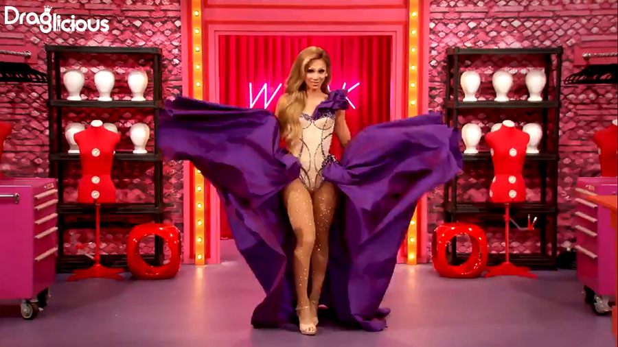 rupauls drag race season 11 s11 draglicious entrance entrada plastique tiara