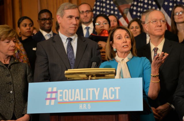 Pelosi: Supreme Court review to have 'no impact' on Equality Act