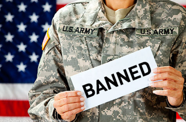 Transgender Military Ban Goes Into Effect