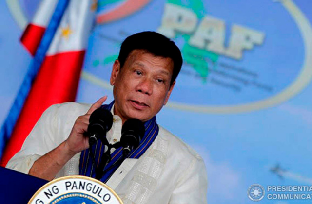 Philippines President Says he 'Cured' His Homosexuality
