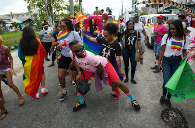 Pride Celebrations Amid Efforts to Decriminalize Homosexuality