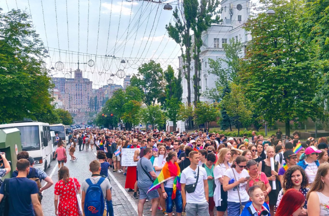 Ukraine Holds Biggest Pride Parade in Its History