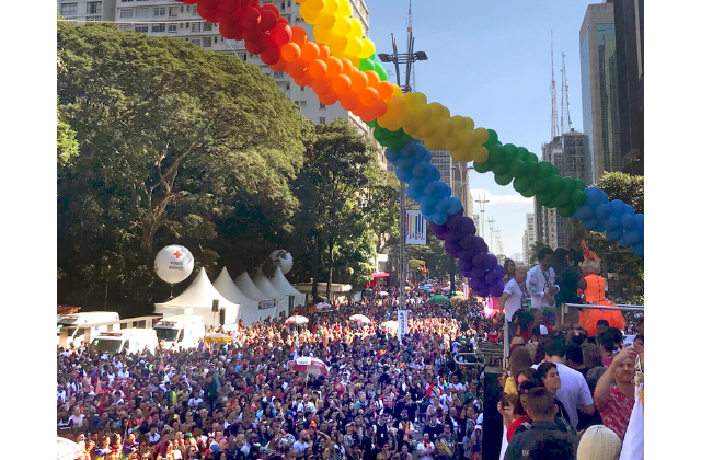 Brazilian Pride March Doubles as a Protest Against Bolsonaro
