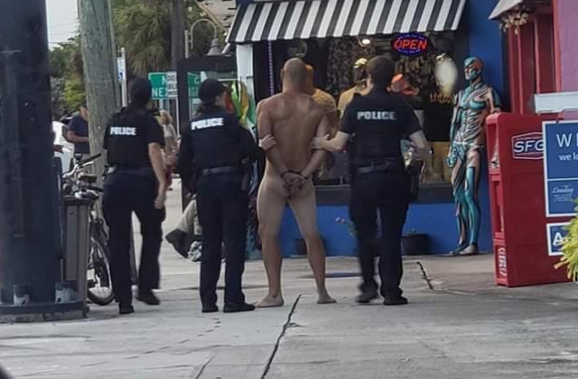 Naked Bicyclist Causes Stir in Wilton Manors
