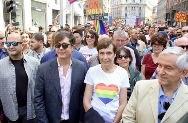 Gay US Ambassador Marches in First-Ever Bosnia Pride Parade