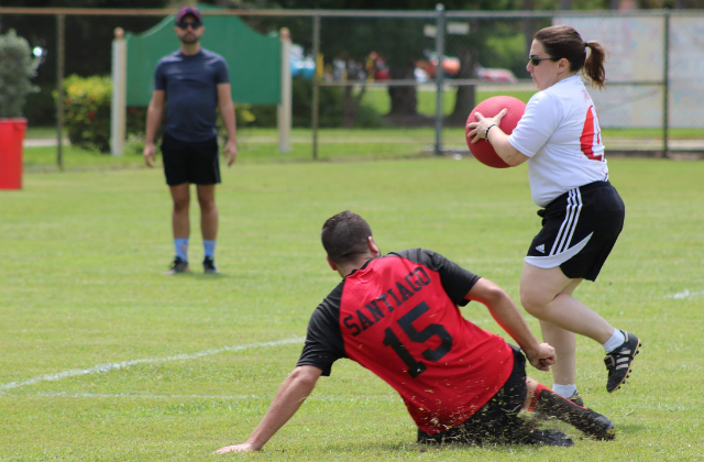 Kickball Kicks Off With a Bang