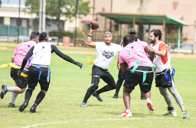 LGBT Flag Football League to Partner With Miami Dolphins
