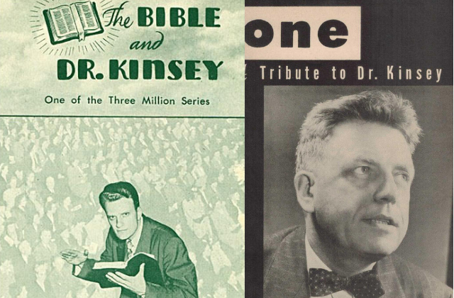 "Alfred Kinsey ""Was Our Stonewall."" - Samuel Steward"
