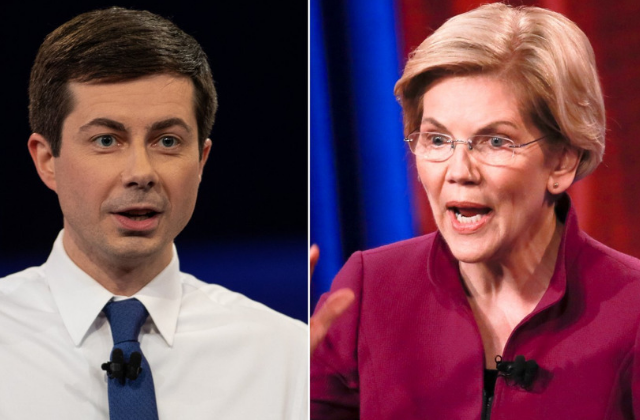 Warren/Buttigieg Release Plans on LGBT Protections...Town Hall