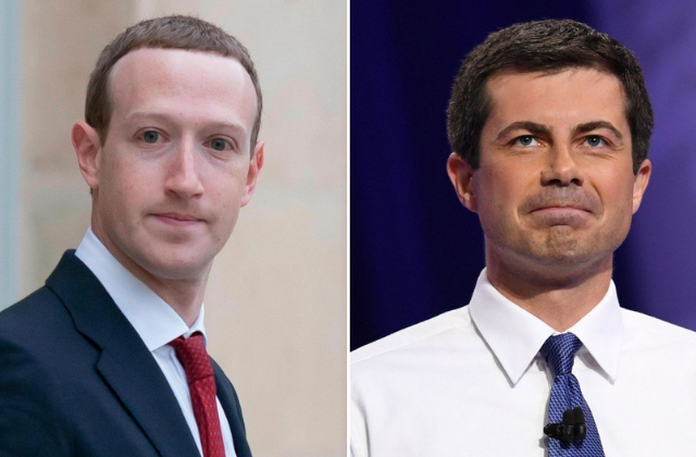 Facebook CEO: Hiring Advice to Buttigieg 'Shouldn't Be Taken as an endorsement'