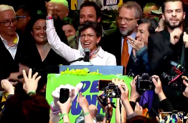 Out Politician Becomes First LGBT Mayor of Bogotá