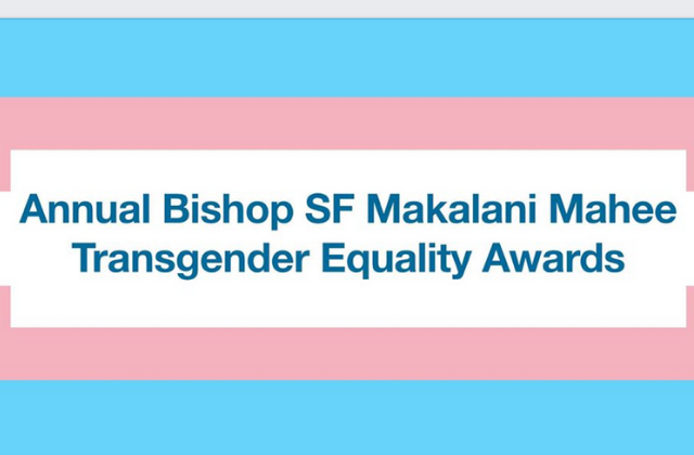 Makalani Mahee Transgender Equality Awards Ceremony Tuesday in Wilton Manors