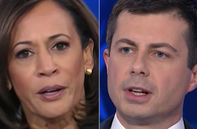 Harris: Buttigieg 'a Bit Naive' For Comments on Gay experience