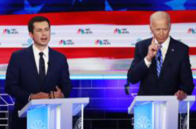 Biden Buttigieg 'Stole' My Healthcare Proposal
