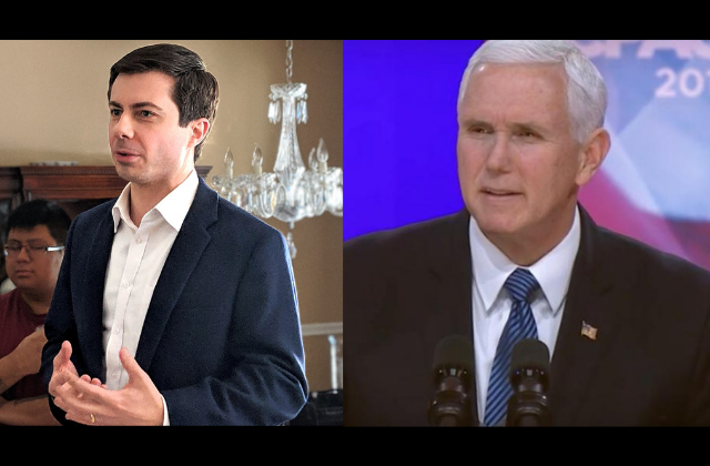 Buttigieg Slams Pence as 'Cheerleader of The Porn Star Presidency'