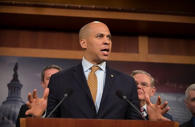 Cory Booker Says He Would Reverse Transgender Ban