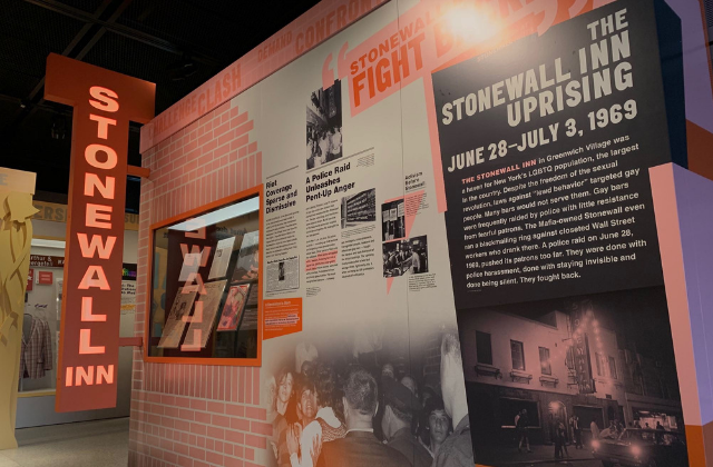 Newseum Unveils'Rise Up' Stonewall-Themed Exhibit
