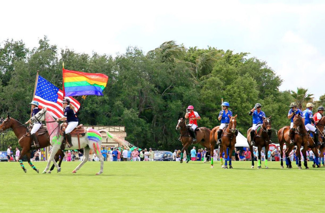 Gay Polo Tournament Celebrates 10 Years in Wellington
