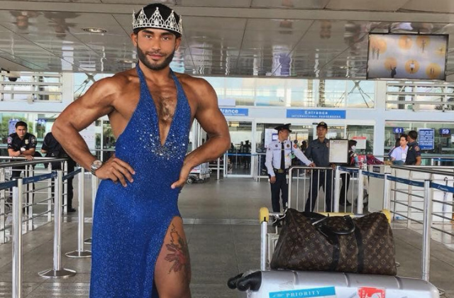 Gay Model Visits Brunei, Says It's Safe