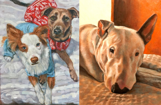 Local Artist Specializes in Memorializing Your 'Furry' Ones
